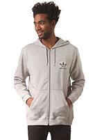 ADIDAS Spess FZ Hooded Zip Sweat medium grey heather