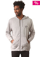 ADIDAS Spess FZ Hooded Zip Sweat medium grey heather