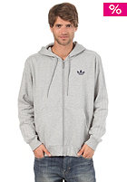 ADIDAS SPO Floc Hooded Sweat medium grey heather/me