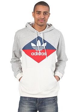 ADIDAS SPO Hooded Sweat medium grey heather
