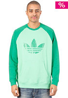 ADIDAS Sport Lite Crew Sweat green zest/fairway