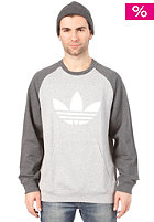 ADIDAS Sport Lite Crew Sweat medium grey heather/white