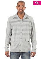 ADIDAS Stp Cardigan Sweatshirt medium grey heather/black