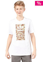 ADIDAS Style S/S T-Shirt white/clear sand f11/true blue