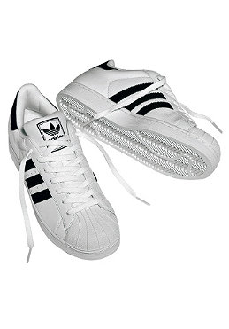 ADIDAS Superstar II white/black/white