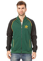 ADIDAS Superstar Track Top Jacket dark green/black