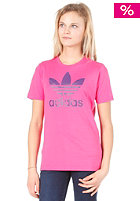 ADIDAS Trefoil S/S T-Shirt bloom / power purple