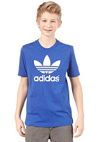 ADIDAS Trefoil S/S T-Shirt TRUE BLUE/WHITE