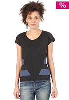 ADIDAS Women Colorado Stripe S/S T-Shirt solid blue/black