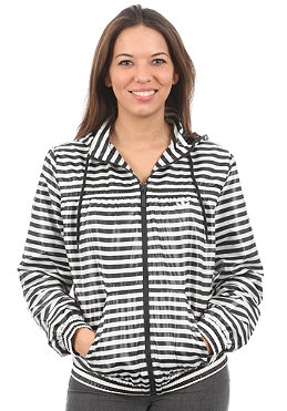 ADIDAS Womens AC Windbreaker Jacket black/running white