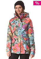 ADIDAS Womens Access 2L Snow Jacket amared/multco