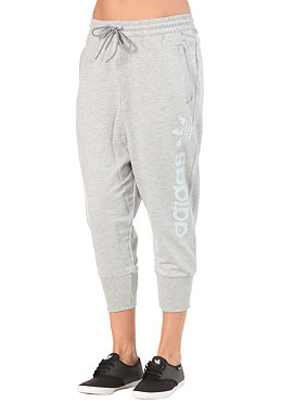 ADIDAS Womens AS Slouch Tracktop Pant medium grey heather