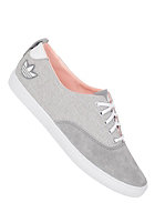 ADIDAS Womens Azurine Low grey rock s12/running white ftw/haze coral s13