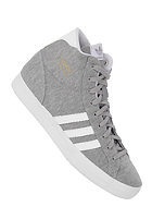 ADIDAS Womens Basket Profi medium grey heather/aluminium/running white