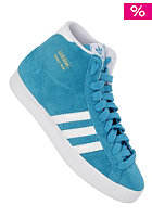 ADIDAS Womens Basket Profi turquoise/ running white ftw/metallic gold