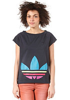 ADIDAS Womens Big Trefoil S/S T-Shirt legend ink s10