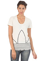ADIDAS Womens Big Trefoil S/S T-Shirt running white