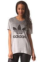 ADIDAS Womens Boyfriend S/S T-Shirt mgreyh/black