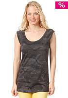 ADIDAS Womens Camo Tie Tank Top sharp grey / black / pantone / dark shale