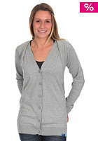 ADIDAS Womens Cardigan Jacke medium grey heather