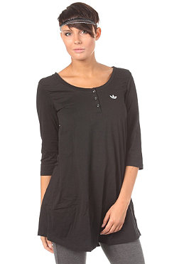 ADIDAS Womens Casual L/S T-Shirt black