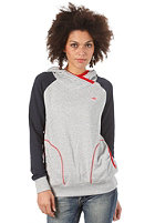 ADIDAS Womens CB Hooded Sweat medium grey heather/dark navy