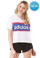ADIDAS Womens City LDN S/S T-Shirt white