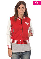 ADIDAS Womens Coll Jacket univer red/run white