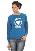 ADIDAS Womens Coll Sweatshirt dark royal