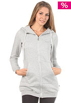 ADIDAS Womens Coll Tracktop Hooded Sweat medium grey heather
