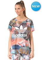 ADIDAS Womens Curso Logo S/S T-Shirt multicolor