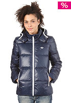 ADIDAS Womens Down Jacket dark navy