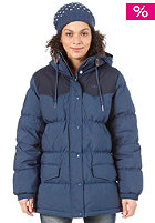 ADIDAS Womens Down Jacket solid blue