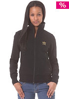 ADIDAS Womens Firebird Tracktop Fleece Jacket black
