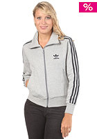 ADIDAS Womens Firebird Tracktop Hooded Jacket medium grey heather/dark navy