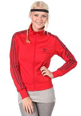 ADIDAS Womens Firebird Tracktop Jacket light scarlet