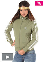 ADIDAS Womens Firebird Tracktop Jacket shift olive/running white