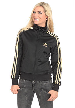 ADIDAS Womens Firebird TT Jacket black/metallic gold