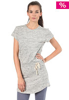 ADIDAS Womens French Terry T-Dress medium grey heather