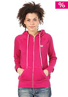 ADIDAS Womens French Terry Track Top Hooded Zip Sweat power pink