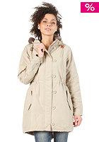 ADIDAS Womens Fur Woven Parka tech gold