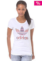 ADIDAS Womens G Trefoil Infil S/S T-Shirt wht