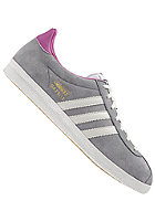 ADIDAS Womens Gazelle OG aluminum 2 / white vapour s11 / red beauty f10