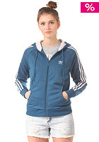 Womens Girly Hooded Sweat triblu/stdepk