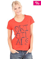 ADIDAS Womens Graphic S/S T-Shirt sharp orange/sharp orange