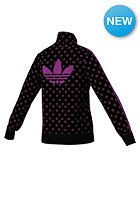 ADIDAS Womens J Firebird Track Top Jacket black/vividpink noir/rosevif