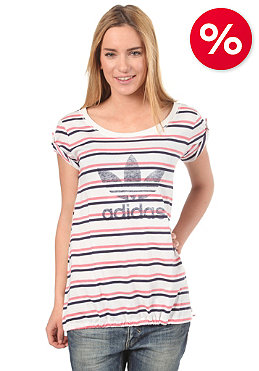 ADIDAS Womens Logo S/S T-Shirt run white/lg