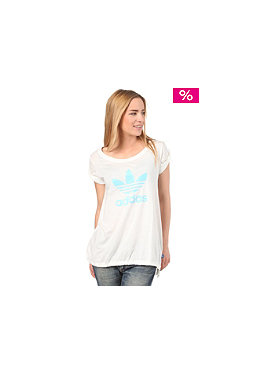 ADIDAS Womens Logo S/S T-Shirt run white
