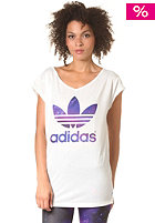ADIDAS Womens Logo S/S T-Shirt running white