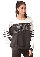 ADIDAS Womens Logo Sweat black/core white
